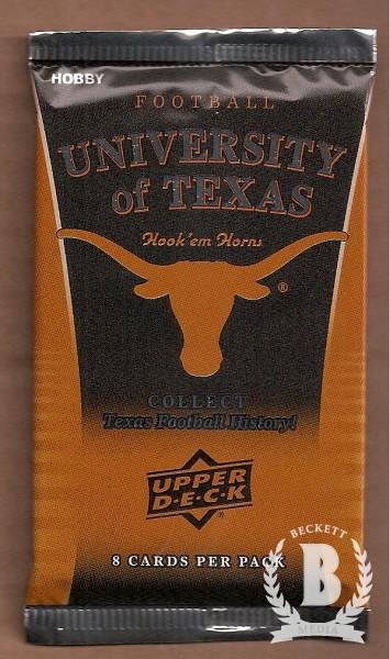 2011 Upper Deck Texas Football Hobby Pack