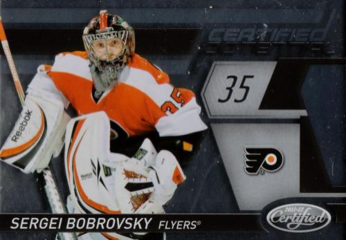 2011-12 Certified Potential #5 Sergei Bobrovsky