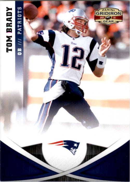 2011 Panini Gridiron Gear #4 Tom Brady