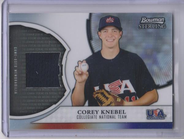 2011 Bowman Sterling USA Baseball Relics #CK Corey Knebel