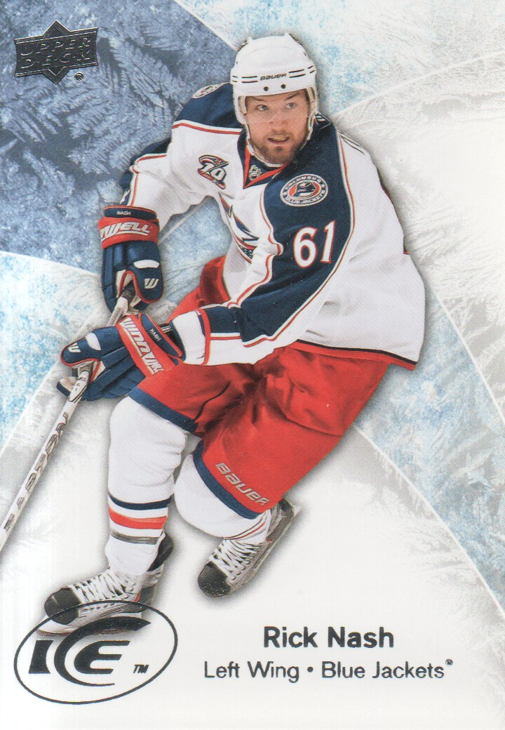 2011-12 Upper Deck Ice #7 Rick Nash