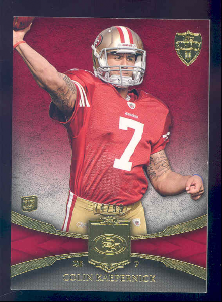 2011 Topps Supreme Red #73 Colin Kaepernick