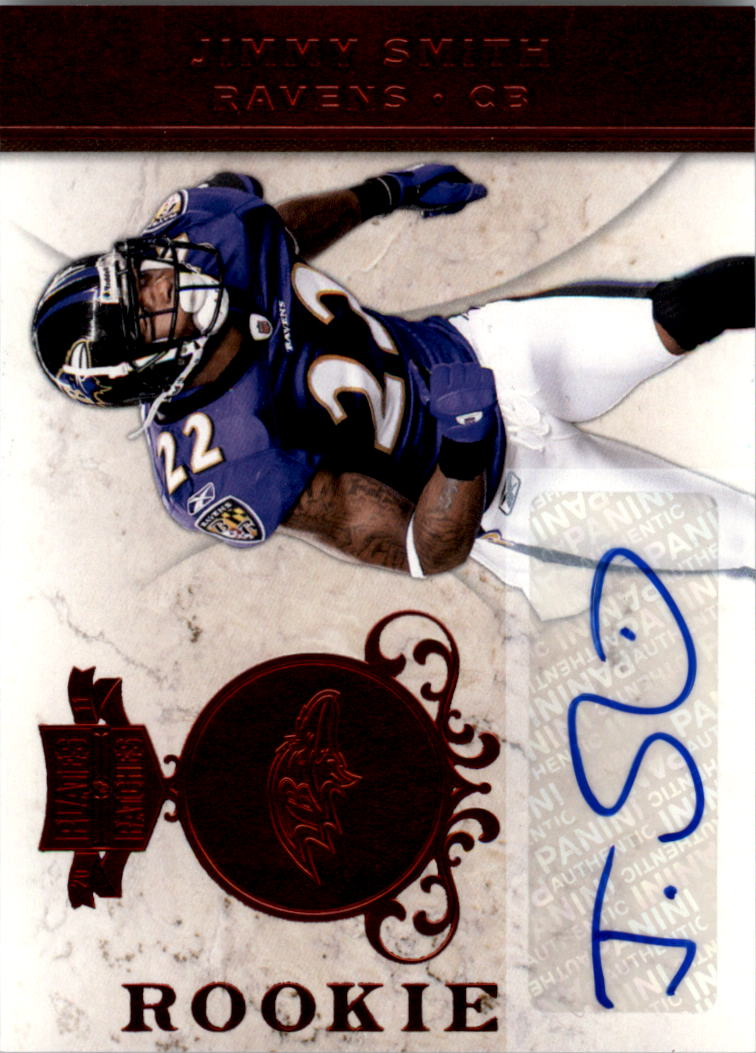 2011 Panini Plates and Patches #138 Jimmy Smith AU/49 RC