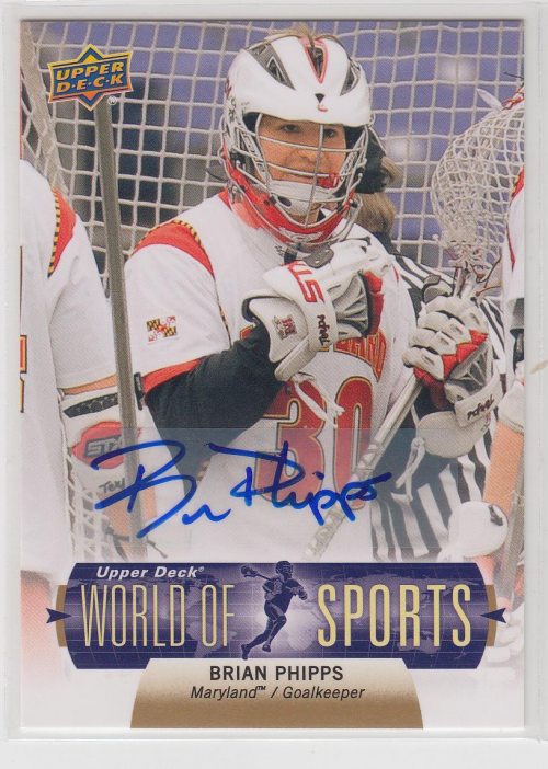 2011 Upper Deck World of Sports Autographs #288 Damien Hobgood Auto Card