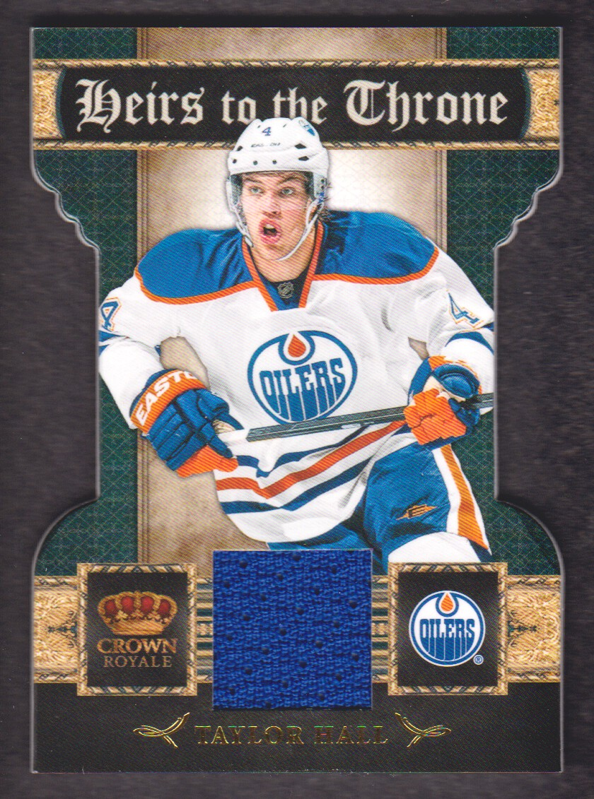 2011-12 Crown Royale Heirs To The Throne Materials #6 Taylor Hall