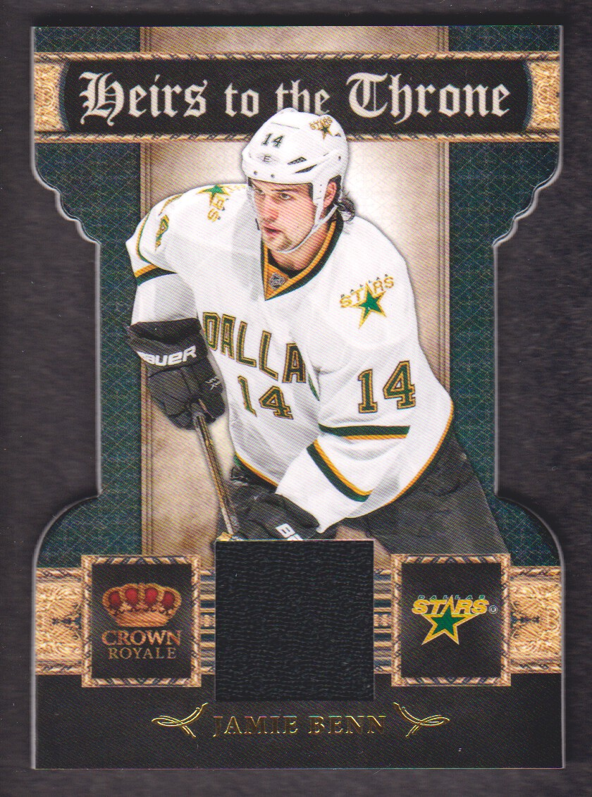 2011-12 Crown Royale Heirs To The Throne Materials #11 Jamie Benn