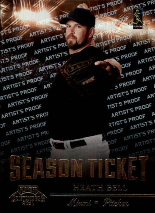 2011 Playoff Contenders Artist's Proof #33 Heath Bell
