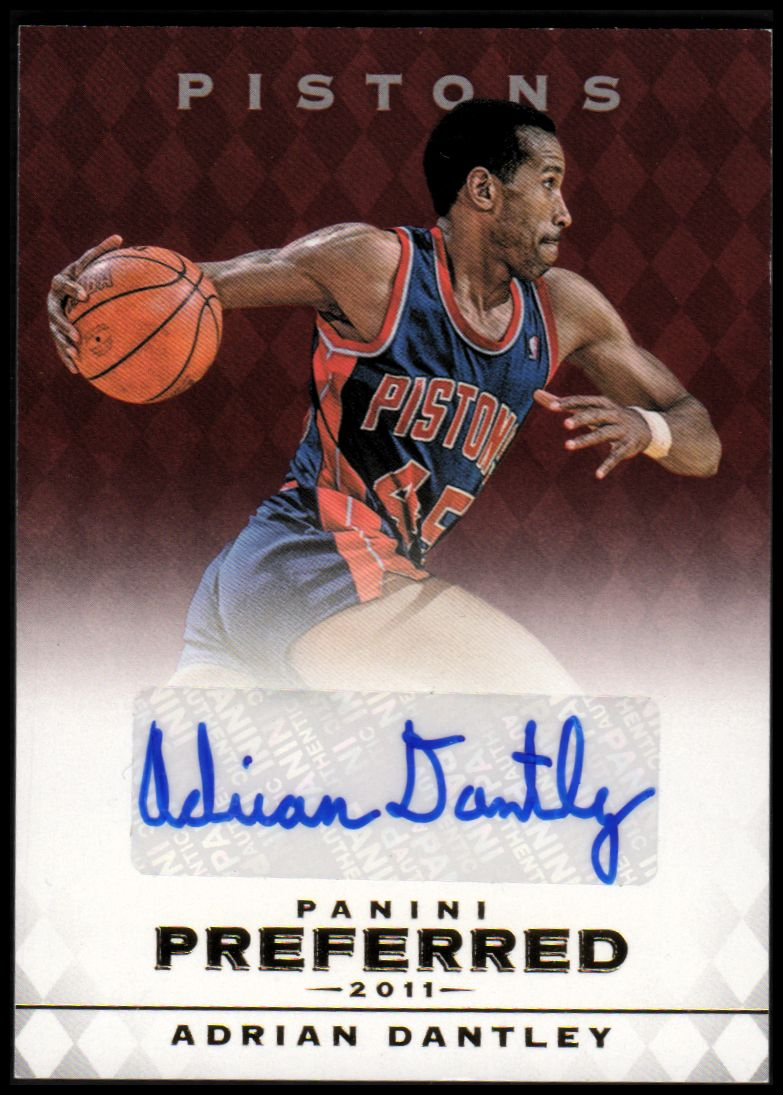 2011-12 Panini Preferred #2 Adrian Dantley PS/74 AU