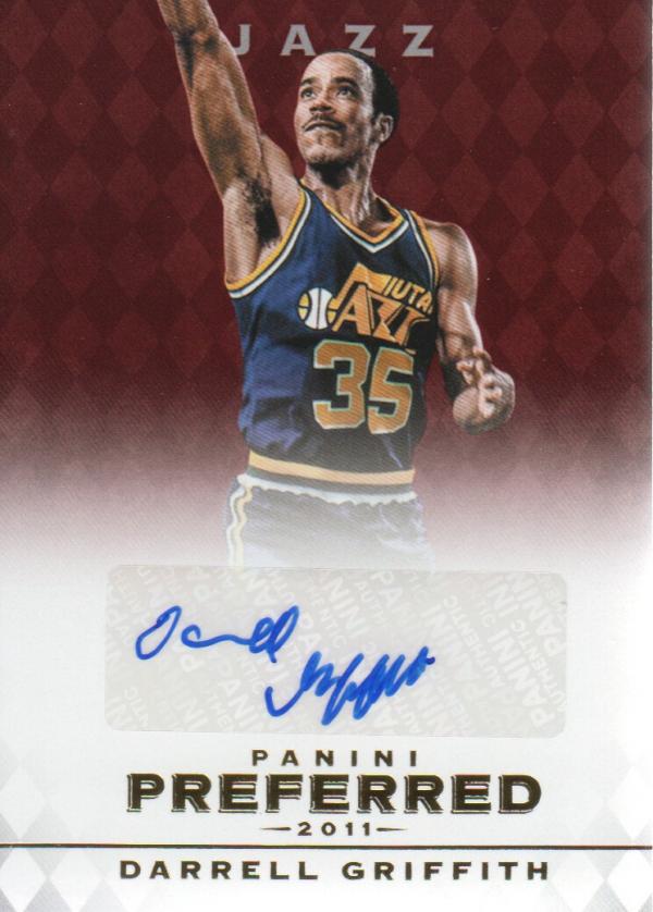 2011-12 Panini Preferred #35 Darrell Griffith PS/74 AU