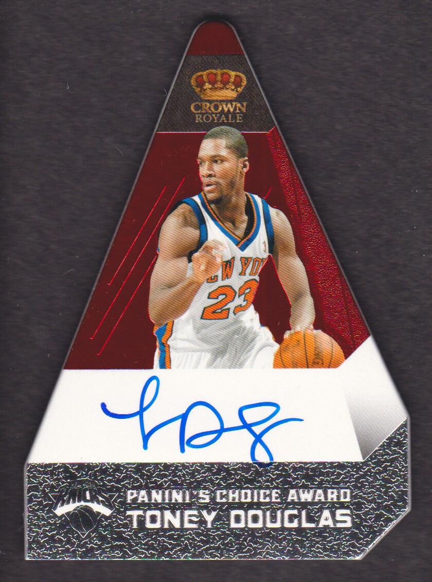 2011-12 Panini Preferred #194 Toney Douglas PC/74 AU