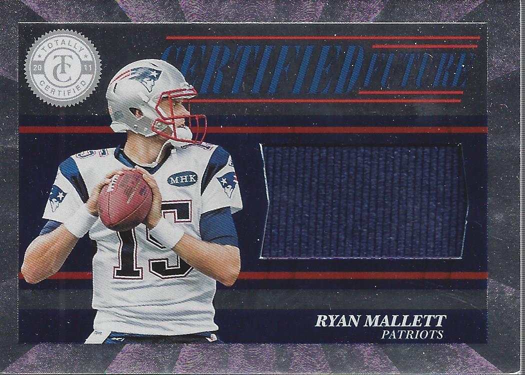 2011 Totally Certified Future Materials #3 Ryan Mallett Jersey ...