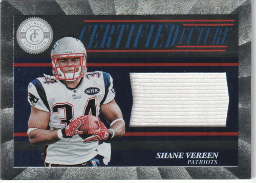 2011 Totally Certified Future Materials #30 Shane Vereen Jersey ...