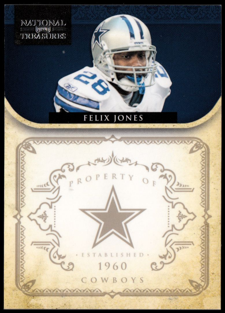 2011 Playoff National Treasures #39 Felix Jones
