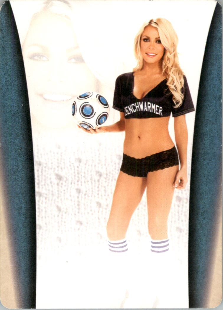 2012 Bench Warmer Soccer Jersey Swatches Printing Plates Back Magenta Autographs #6 Crystal Harris back image