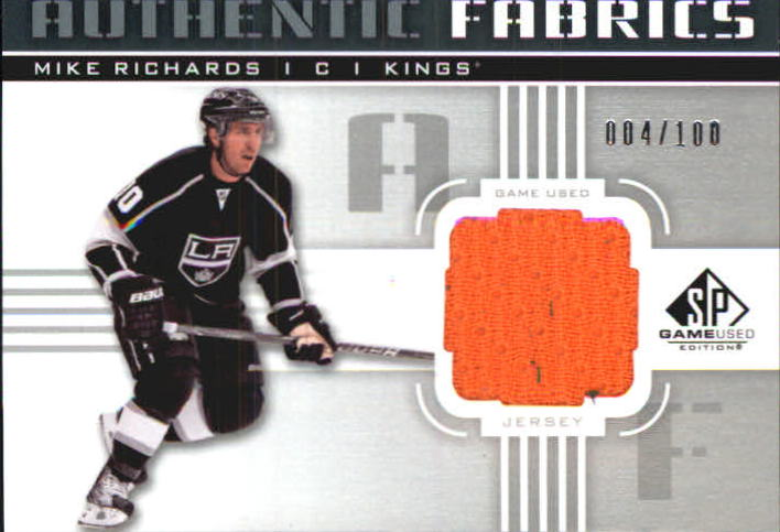 2011-12 SP Game Used Authentic Fabrics #AFMR Mike Richards