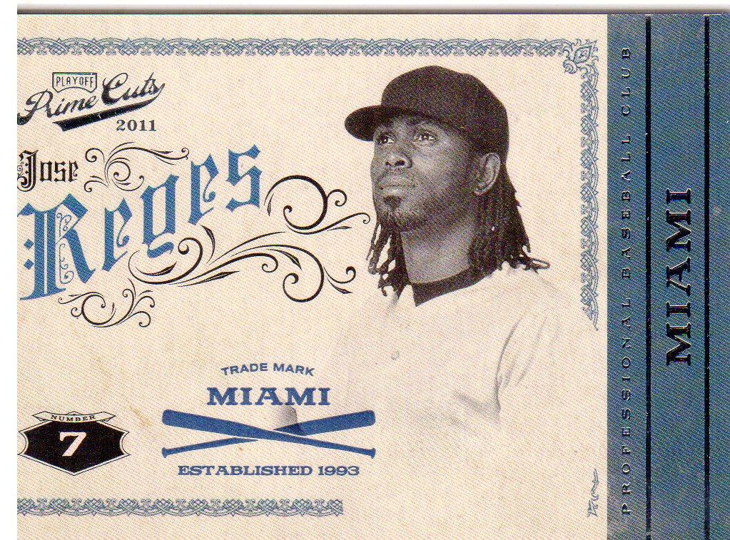 2011 Prime Cuts #23 Jose Reyes