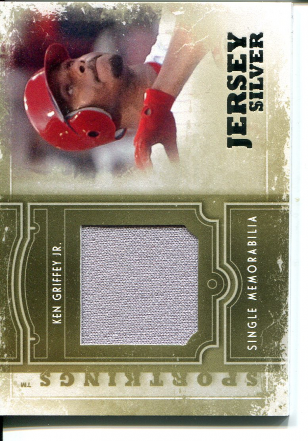 2012 Sportkings Single Memorabilia Silver #SM3 Ken Griffey Jr.
