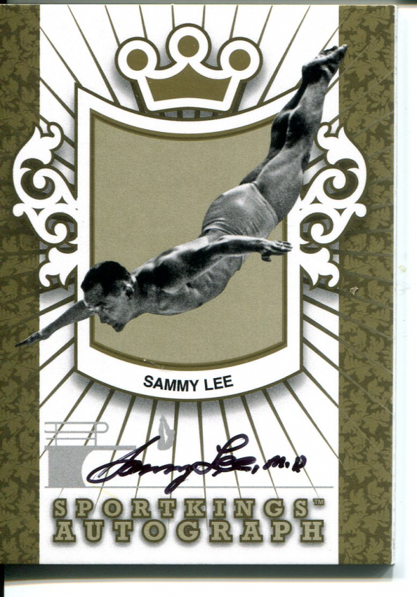 2012 Sportkings Autographs Gold #ASL1 Sammy Lee