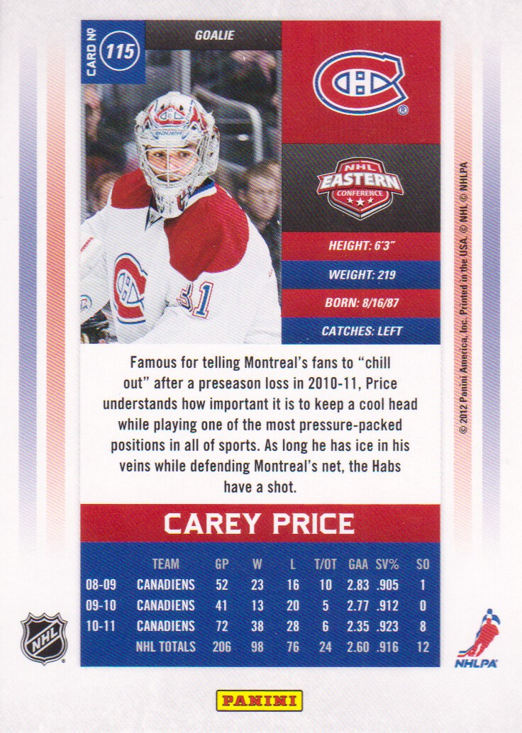 2011-12-Panini-Contenders-Hockey-Cards-Pick-From-List thumbnail 207