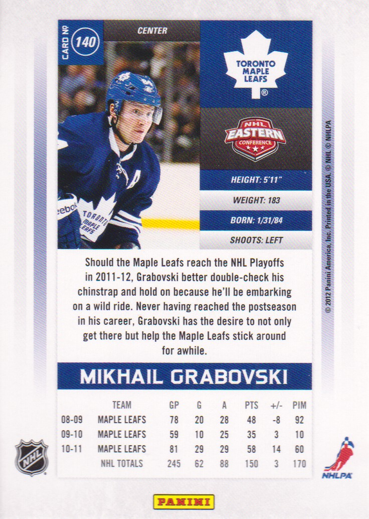 2011-12-Panini-Contenders-Hockey-Cards-Pick-From-List thumbnail 231
