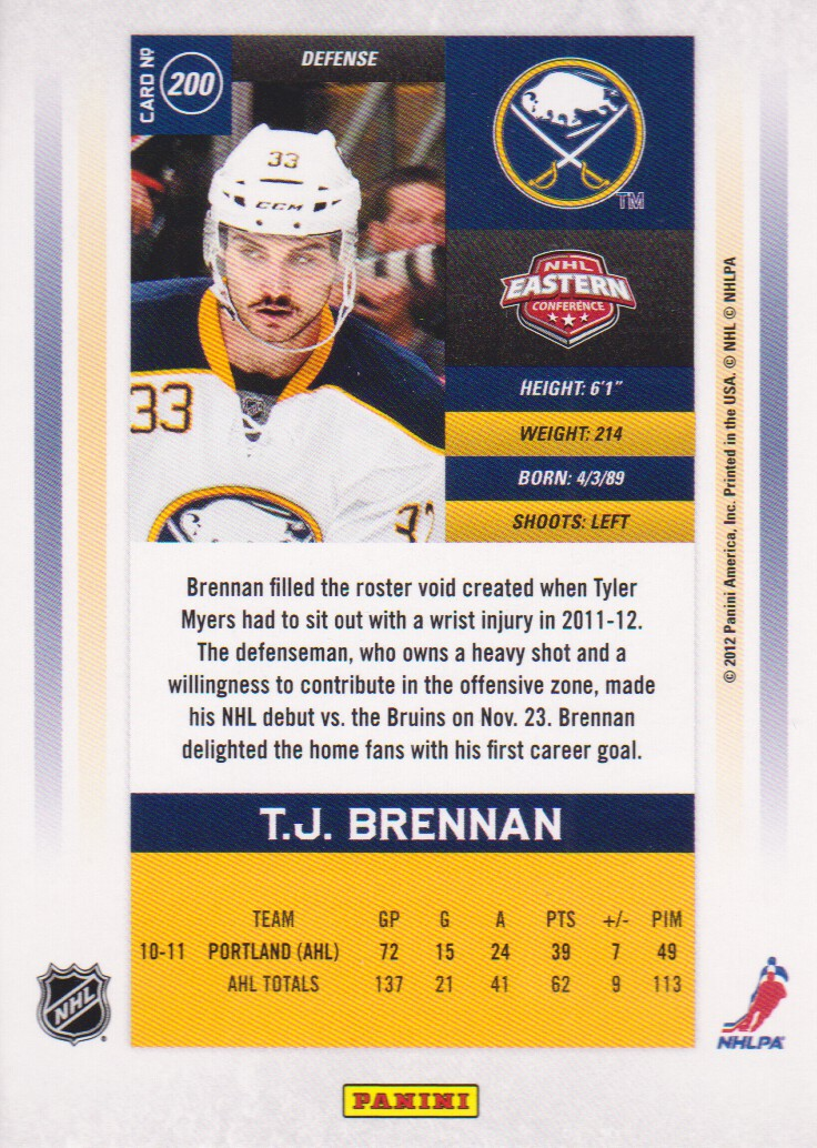 2011-12-Panini-Contenders-Hockey-Cards-Pick-From-List thumbnail 265