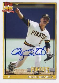 2012 Topps Archives Autographs #DDR Doug Drabek