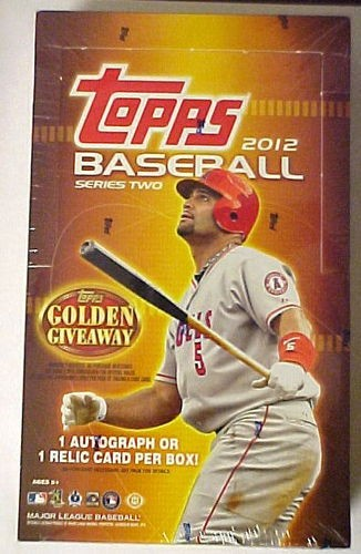 2012 Topps Baseball Hobby Box Series 2