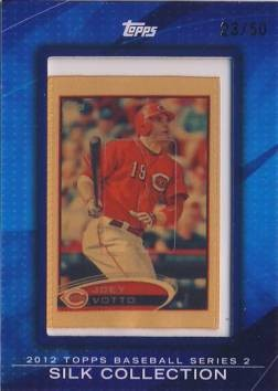 2012 Topps Silk Collection #SC109 Joey Votto