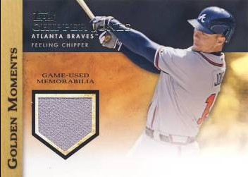 2012 Topps Golden Moments Relics #CJ Chipper Jones S2