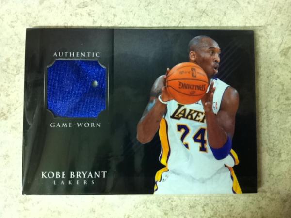 2012 Panini Father's Day Kobe Bryant Shoes #KB1 Kobe Bryant