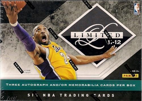 2011-12 Limited Basketball Hobby Box