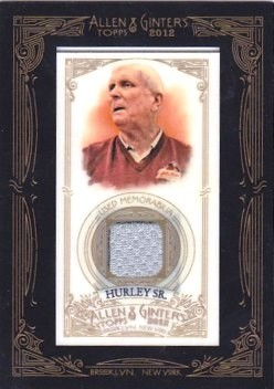 2012 Topps Allen and Ginter Relics #BH Bob Hurley Sr.