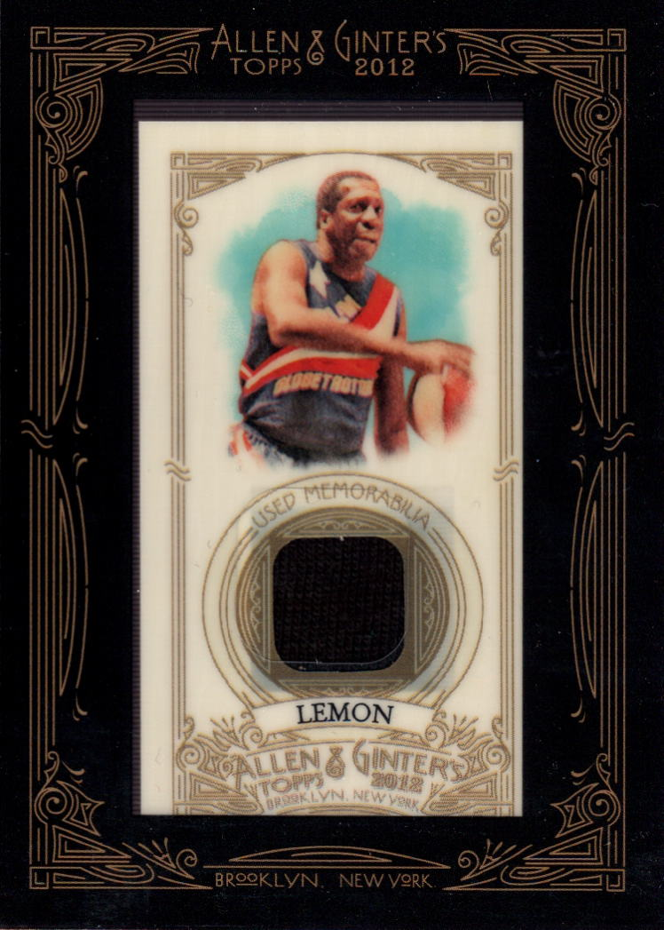 2012 Topps Allen and Ginter Relics #MLE Meadowlark Lemon