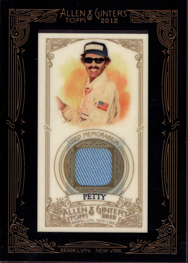 2012 Topps Allen and Ginter Relics #RPE Richard Petty