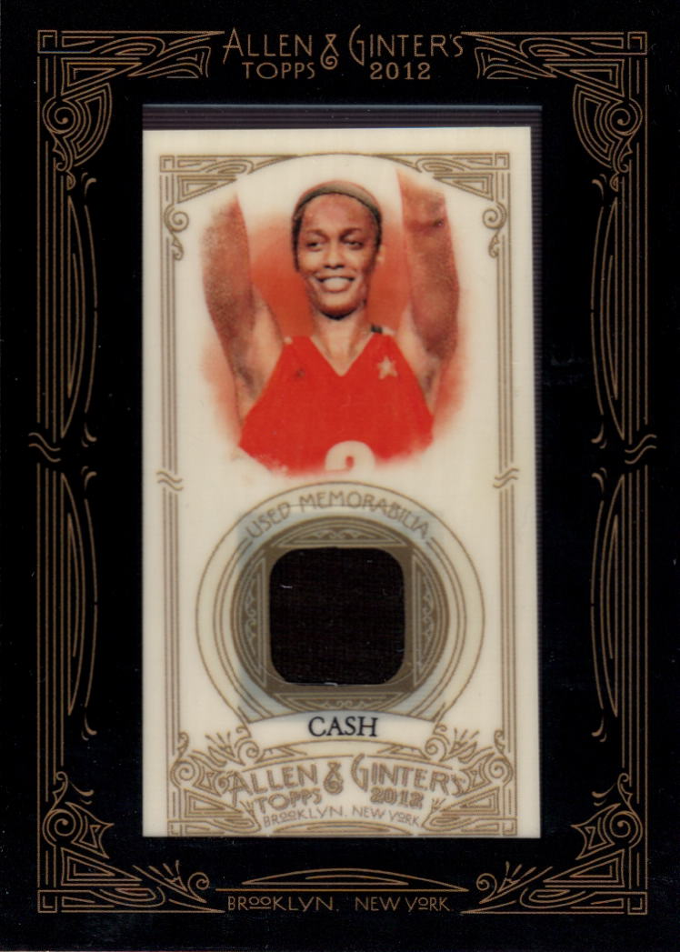 2012 Topps Allen and Ginter Relics #SCA Swin Cash