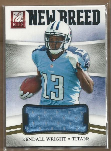 2012 Elite New Breed Jerseys #7 Kendall Wright Jersey /299 | eBay
