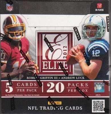 2012 Elite Football Hobby Box