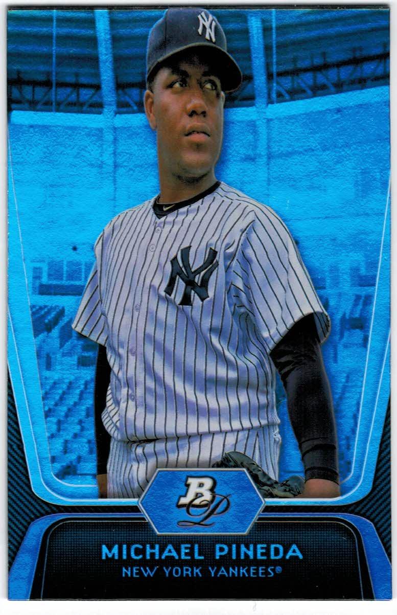 2012 Bowman Platinum #1 Michael Pineda