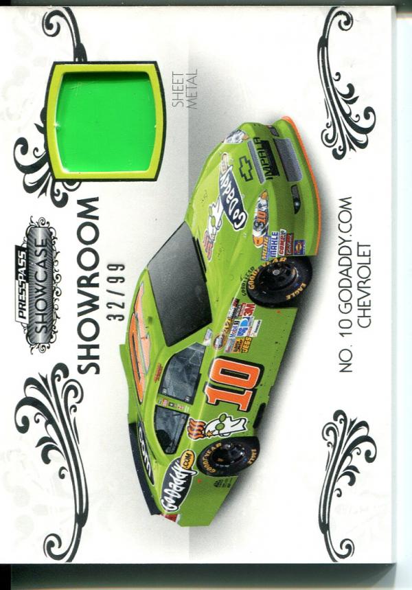 2012 Press Pass Showcase Showroom Memorabilia #SRDP Danica Patrick's Car