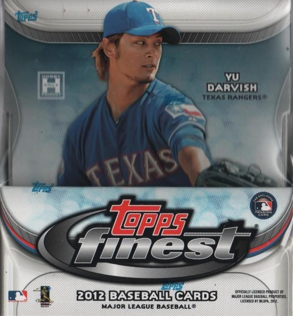 2012 Finest Baseball Hobby Box