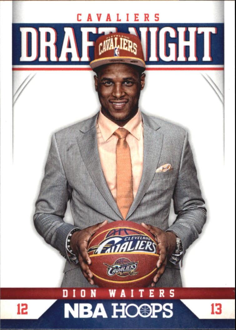 2012-13 Hoops Draft Night #4 Dion Waiters