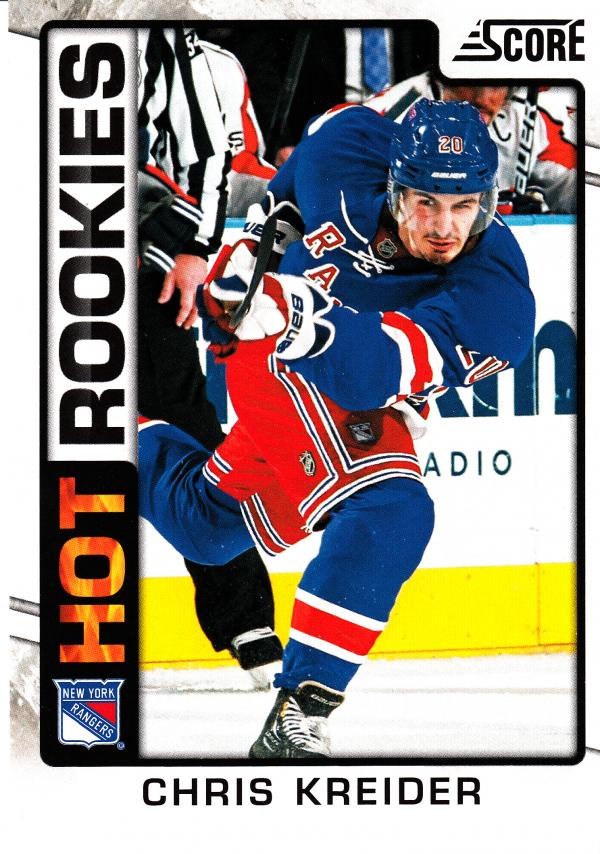 2012-13 Score #543 Chris Kreider HR RC