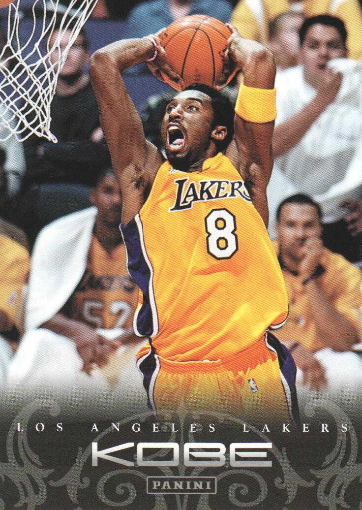 2012-13 Panini Kobe Anthology #55 Kobe Bryant