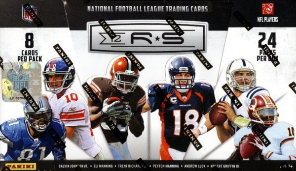 2012 Rookies and Stars Football Hobby Box