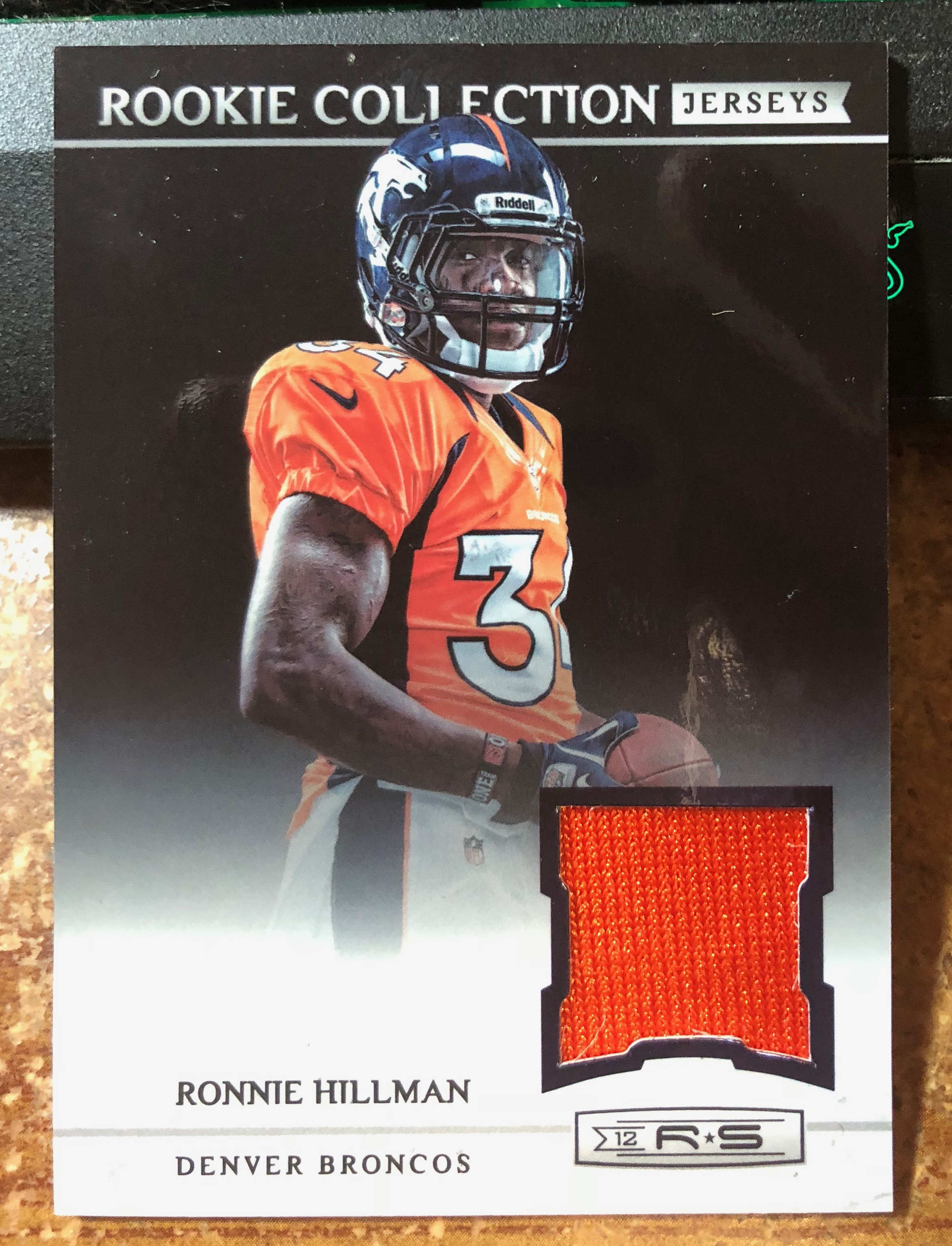 2012 Rookies and Stars Rookie Collection Jerseys #29 Ronnie ...