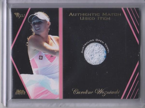 2012 Ace Authentic Grand Slam 3 Match Used Memorabilia #SM8 Caroline Wozniacki