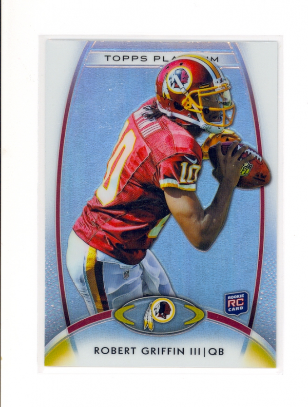 2012 Topps Platinum #120 Robert Griffin III RC