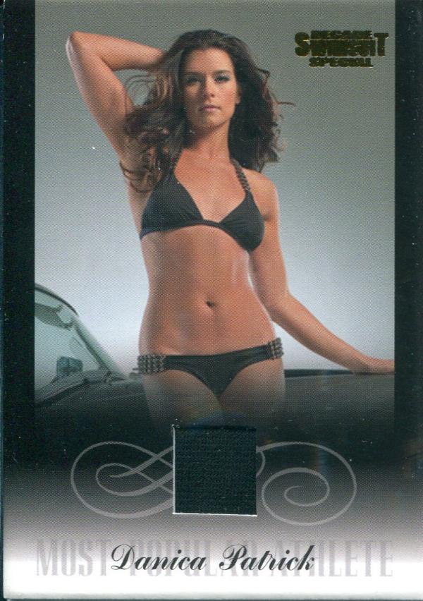 2012 Sports Illustrated Swimsuit Decade of Supermodels Danica Patrick Memorabilia #DP8 Danica Patrick