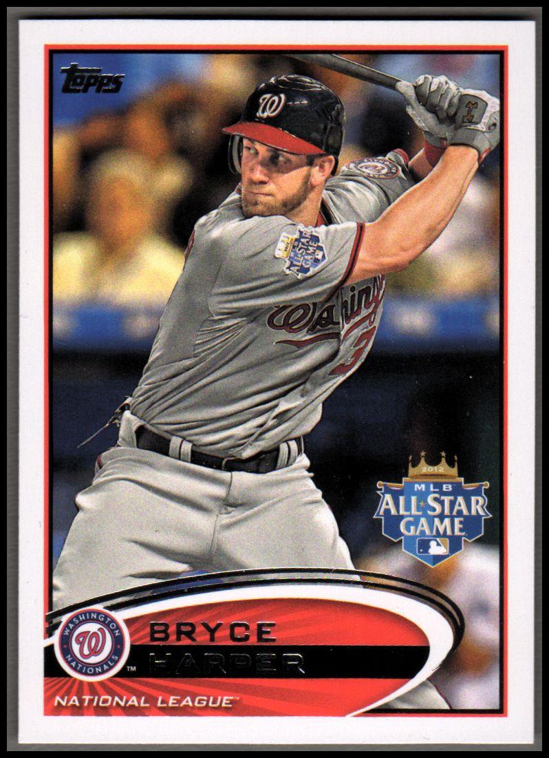 2012 Topps Update #US299A Bryce Harper RC