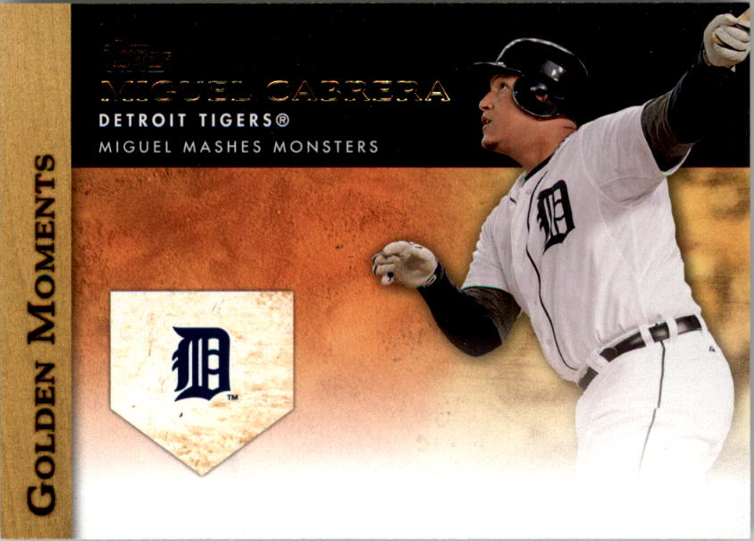 2012 Topps Update Golden Moments #GMU9 Miguel Cabrera